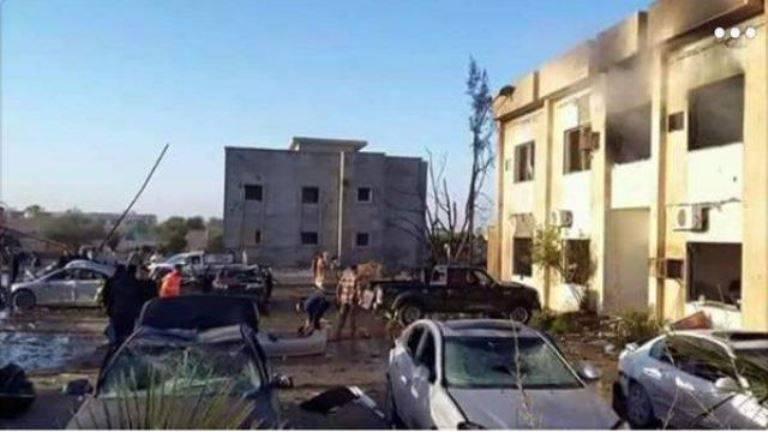 L'attacco nel campo di addestramento libico ha causato la morte di circa 70
