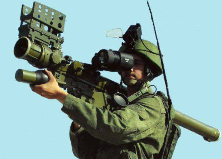 "In two years, the latest MANPADS ""Verba"" received 4 airborne troops"