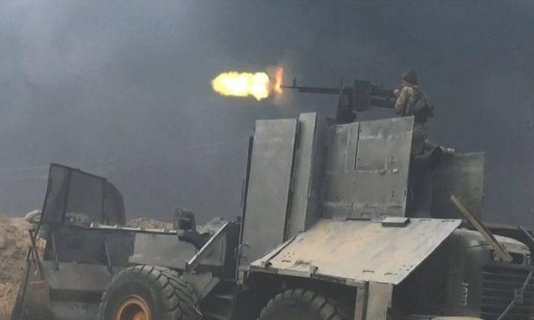 Saldatore di Mad Mahmud: DAISH corazzato fatto in casa