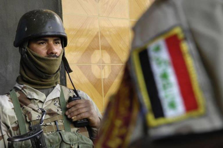 伊拉克军队完全解放了安巴尔省的地区,杀死了70附近的武装分子