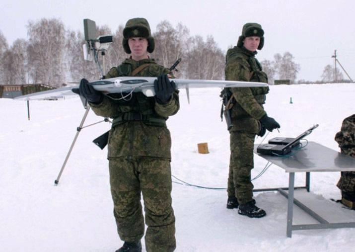 I militari della base russa in armeno sono i droni da ricognizione del Takhion