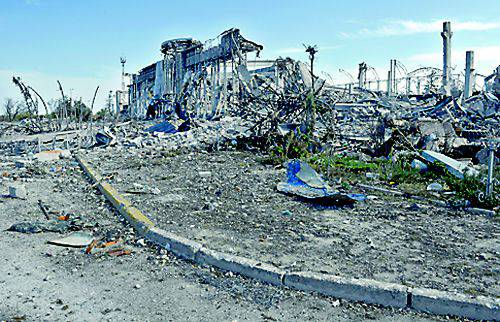 The French delegation examined the ruins of Donetsk airport and St. Iversky monastery to prepare a special report