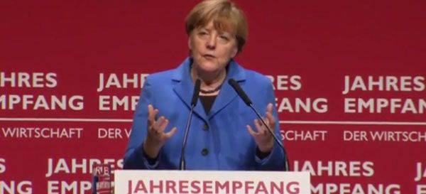 Angela Merkel admitted that the EU has lost control over migrants