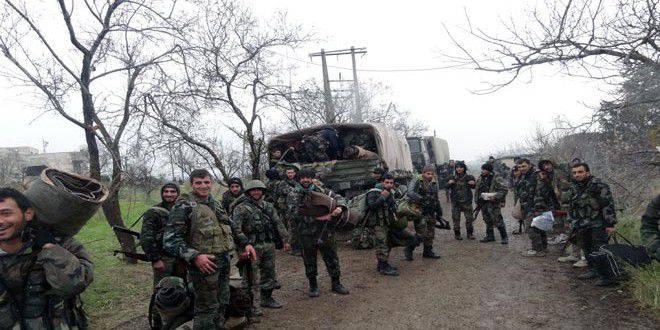 सीरियाई सेना ने लताकिया प्रांत में अल-नुसरा फ्रंट के लड़ाकों के मुख्य गढ़ को अपने नियंत्रण में ले लिया