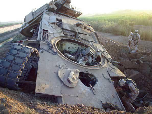 О потерях танков Abrams