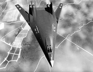 将来の戦略爆撃機はスターウォーズ駆逐艦に似ています