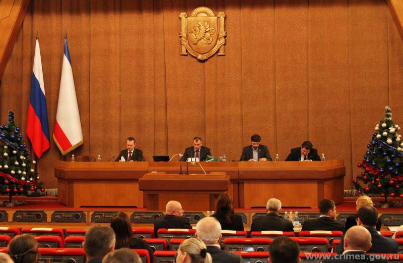 State Council of the Republic of Crimea: Ukraine's actions are genocide