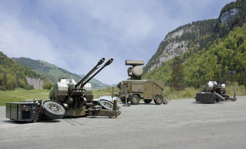 泰国在欧洲订购了35-mm高射炮