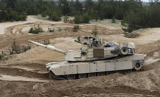 EUA retiram tanques Abrams da Letônia