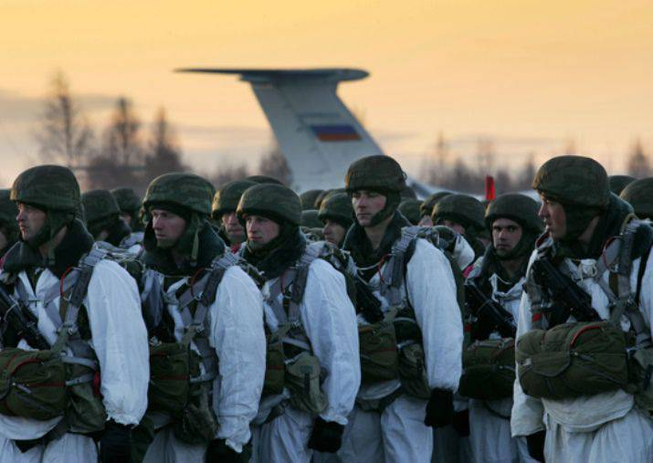 More 2000 paratroopers 20 January will make jumps in 4 regions of Russia