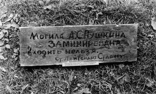 """점령 기간 동안 """"Mikhalovskoe""""보호 구역의 파멸"""