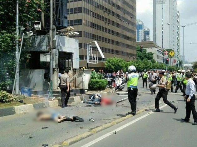 Los ataques terroristas en Yakarta (Indonesia)