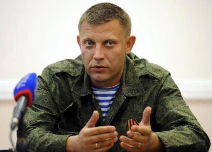 Zakharchenko:キエフは一貫して自称共和国を攻撃する準備をしている