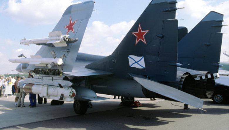 """Navy: the regiment of pilots MiG-29K for """"Admiral Kuznetsov"""" almost formed"""
