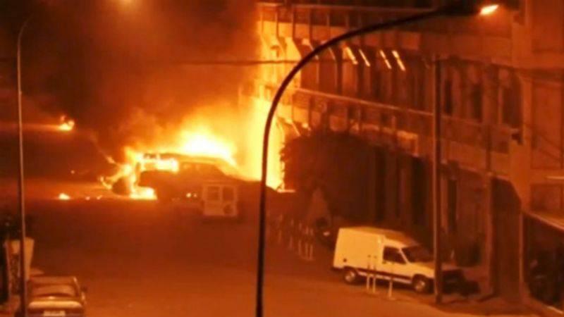 En la capital del hotel Burkina Faso 63 rehén liberado