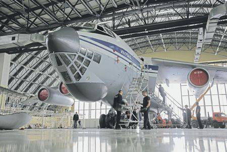 Russian aircraft repair in new conditions