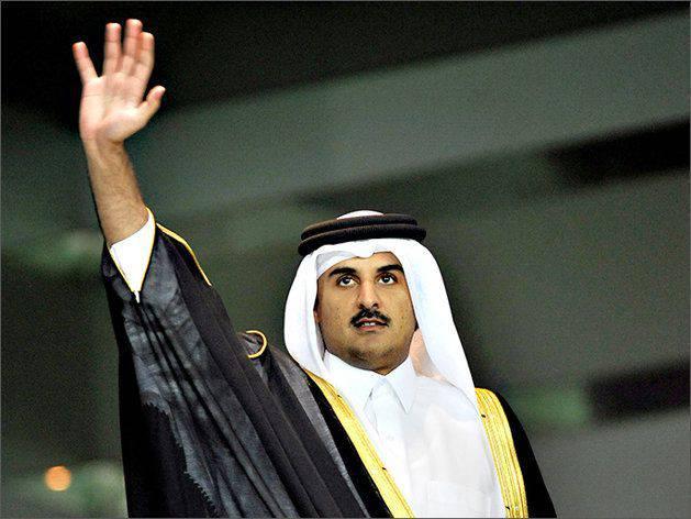"""卡塔尔外交部:埃米尔抵达莫斯科讨论""""解决叙利亚冲突""""问题"""