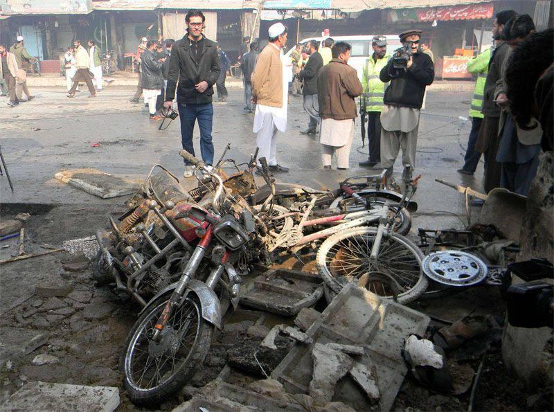 Terroranschlag in einer Großstadt Pakistans
