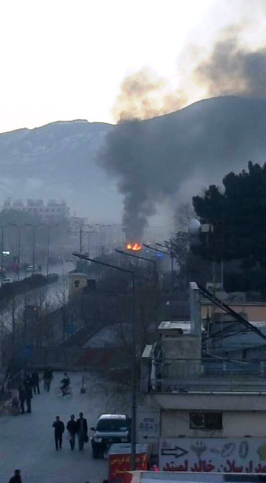 Media: near the Russian Embassy in Kabul a car bomb exploded