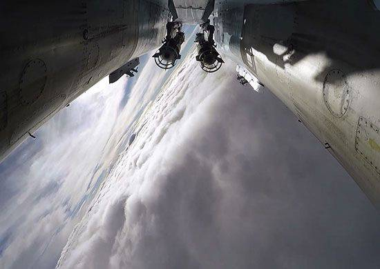 During the day, the aircraft of the Russian Aerospace Forces struck 57 targets of terrorists in Syria