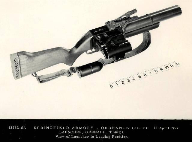 Proyecto lanzagranadas de mano T148E1 (EE. UU.)