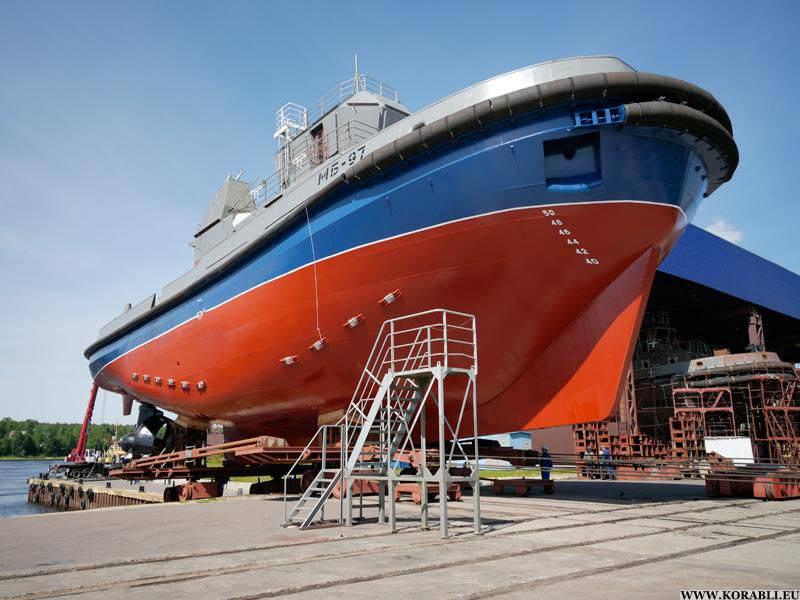 Flota del Báltico recibe un nuevo remolcador multifunción