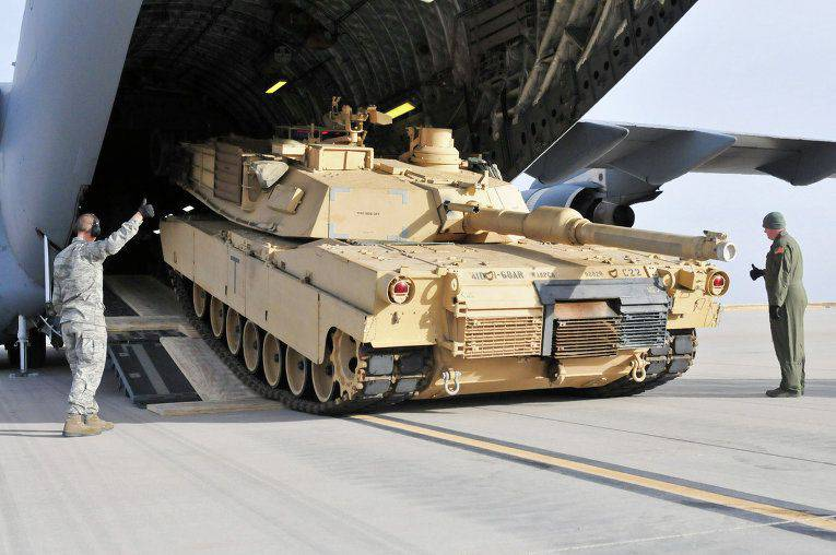 The Pentagon will deliver tanks for the May exercises near Tbilisi to Georgia