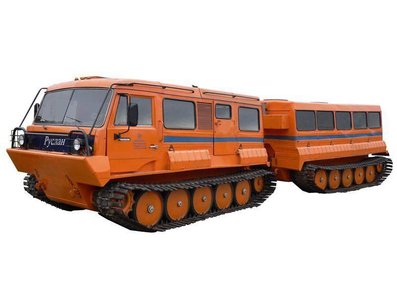 미국 판은 새로운 러시아의 all-terrain 차량을 인정했다
