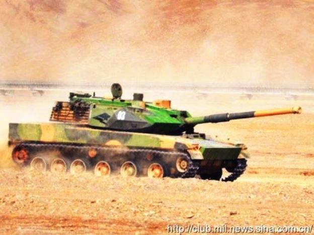 中国的秘密坦克继续在部队中运行