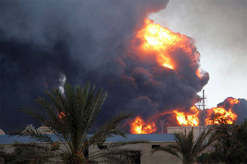 Militants DAISH (ISIS) carried out explosions of oil terminals in the north of Libya