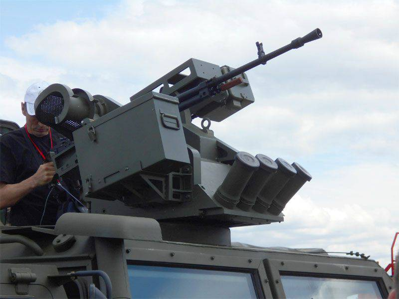 Arbalet-DM combat modules will be equipped with Typhoon armored vehicles