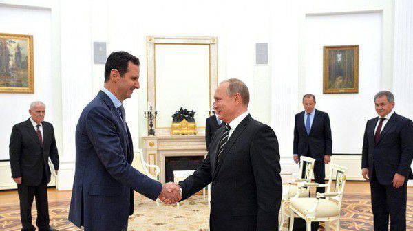 """FT: """"Путин предлагает Асаду уйти в отставку"""""""