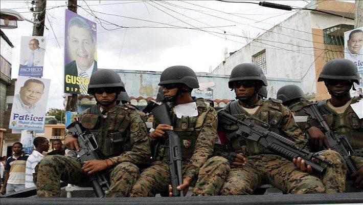 カリブ海の武装。 カリブの軍隊は何ですか?