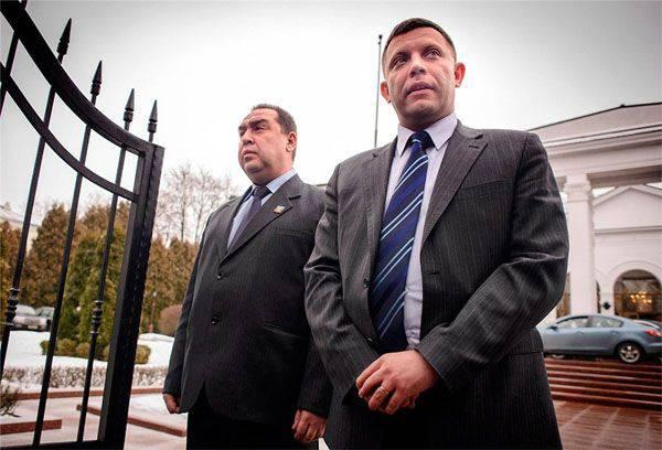 ウクライナのメディアは、「クレムリンの準備」について書いて、特定の条件でDPRとLPRの頭を変える問題を議論します