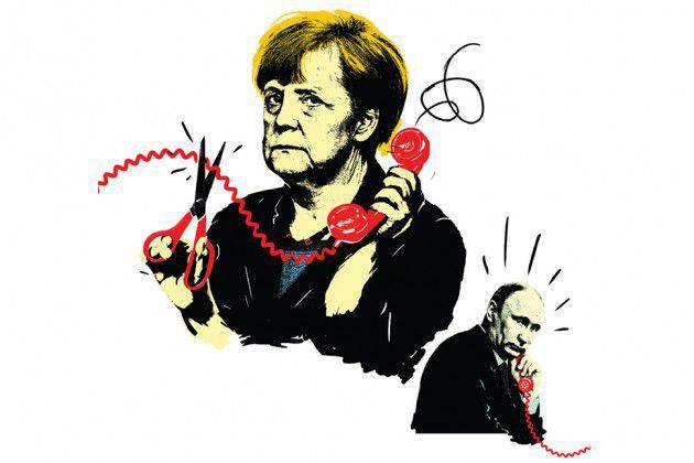 Los alemanes tienen tres problemas con Rusia.