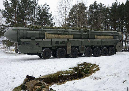 10军团战略导弹部队进行了战斗巡逻路线
