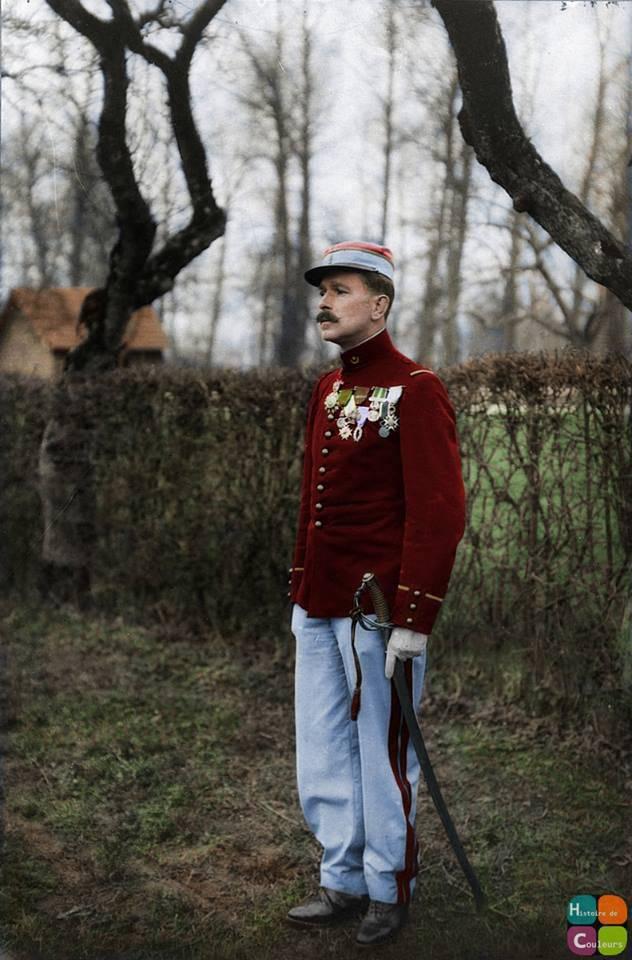 Französischer Soldat des Ersten Weltkriegs