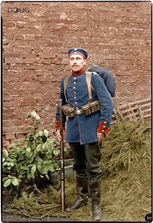 Soldado alemão da Primeira Guerra Mundial