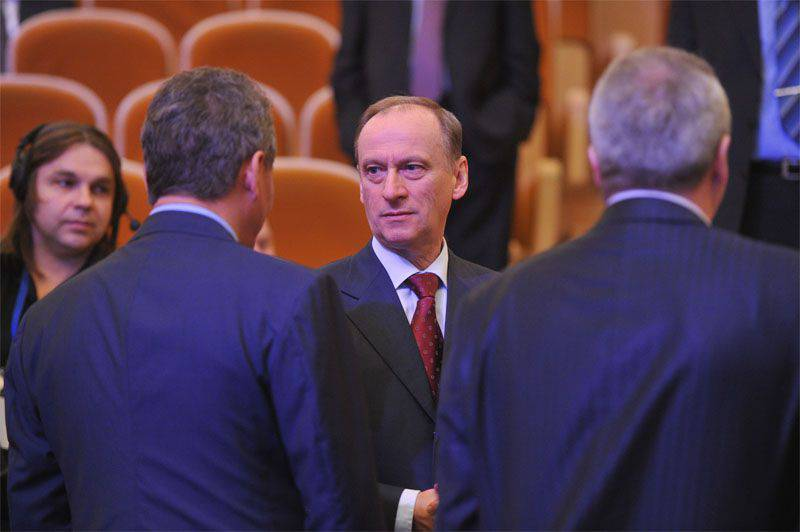 """Nikolai Patrushev in an interview with MK spoke out in favor of """"thanking the USA for Crimea"""""""