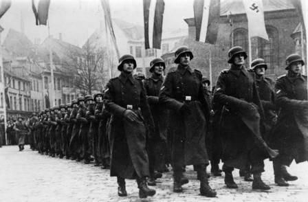 Cruzados europeos de Hitler cerca de Leningrado. Parte uno