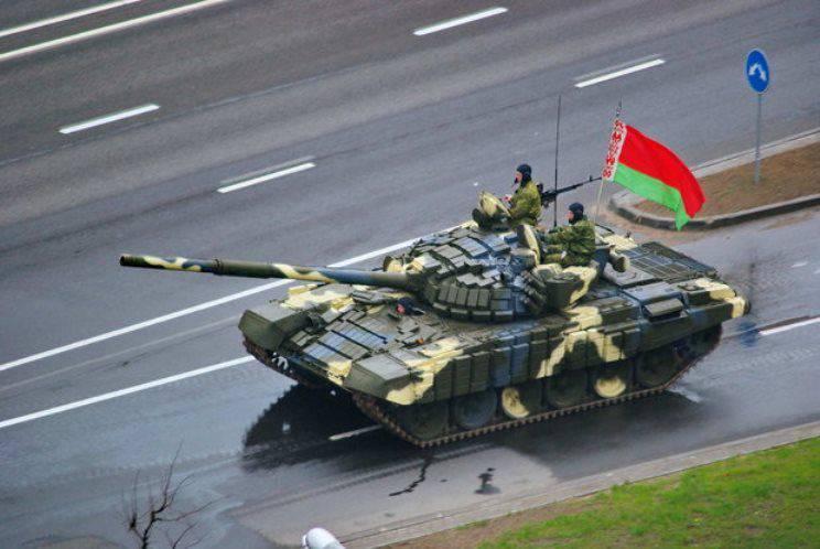 """Das belarussische Verteidigungsministerium beabsichtigt, die gesamte Flotte von T-72B """"Vityaz"""" zu modernisieren"""
