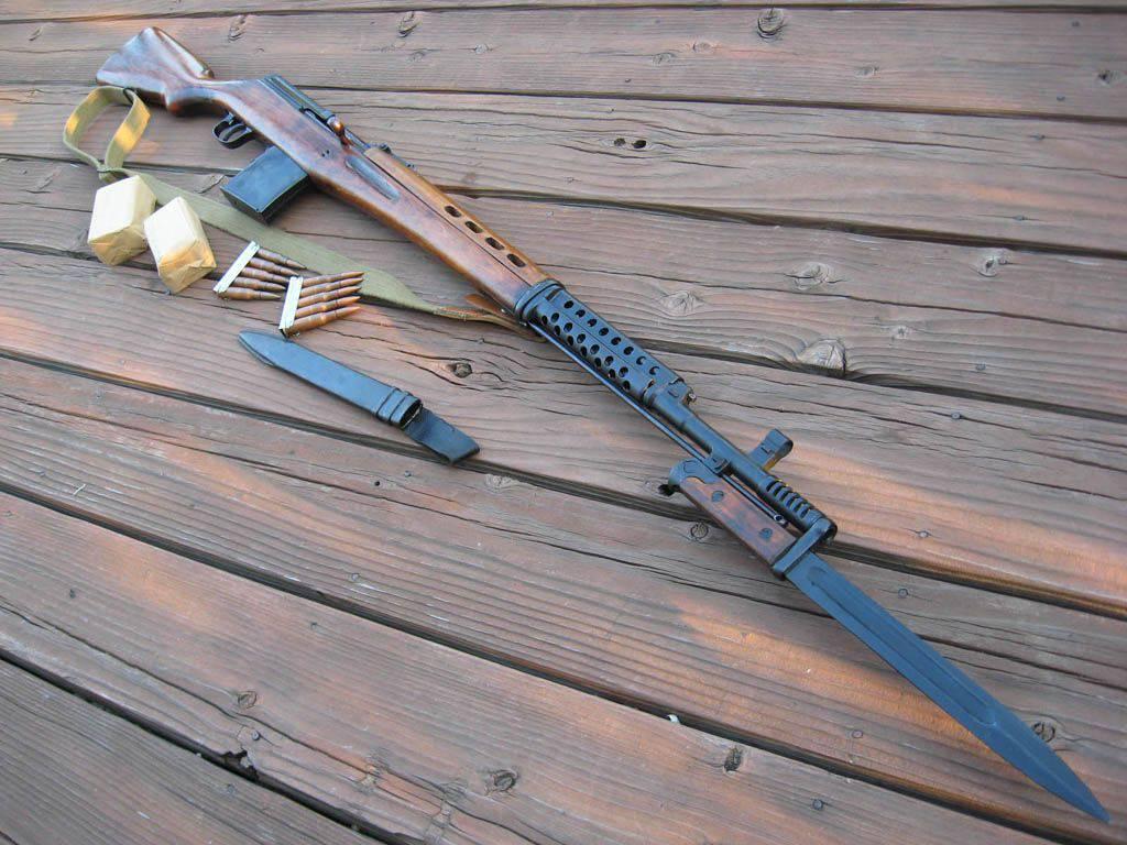 фото штык нож свт