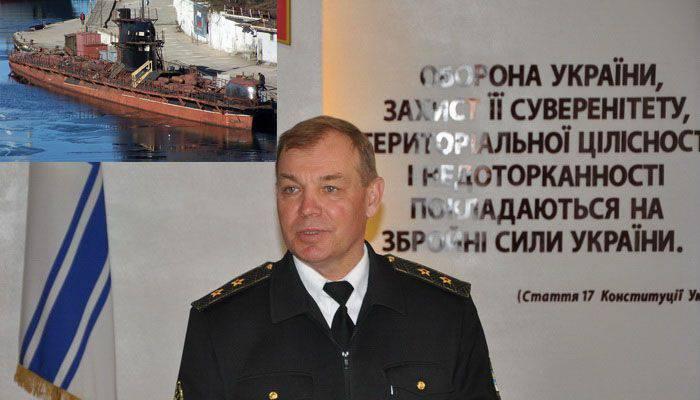 """Ukrayna Deniz Kuvvetleri Baş Komutanı: """"Ukrayna denizaltı kuvvetleri Deniz Kuvvetlerinin seçkinleri olmalı"""""""