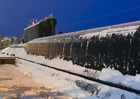 राष्ट्रीय हित में अमेरिकी नौसेना के लिए मुख्य खतरों में रूसी पनडुब्बी बेड़े शामिल हैं