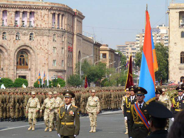 Day of the Armenian army. How the armed forces of Armenia were formed and developed
