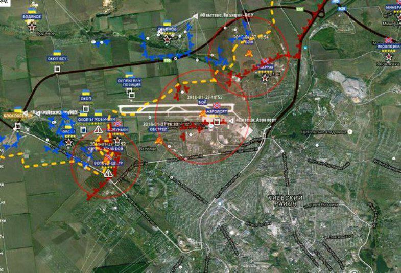 Resumo da situação em Donetsk