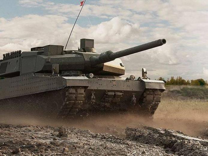 2017 में तुर्की एक श्रृंखला में नए Altay टैंक लॉन्च कर सकता है