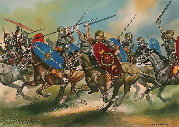 로마의 전사들에 대해 ... 하나의 자료