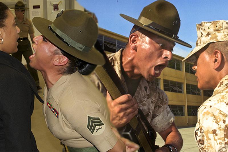 Centro de entrenamiento combinado marino de Estados Unidos y posiciones neutrales de género