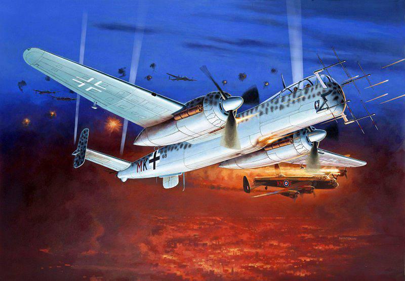 """战斗""""猫头鹰""""德国空军"""